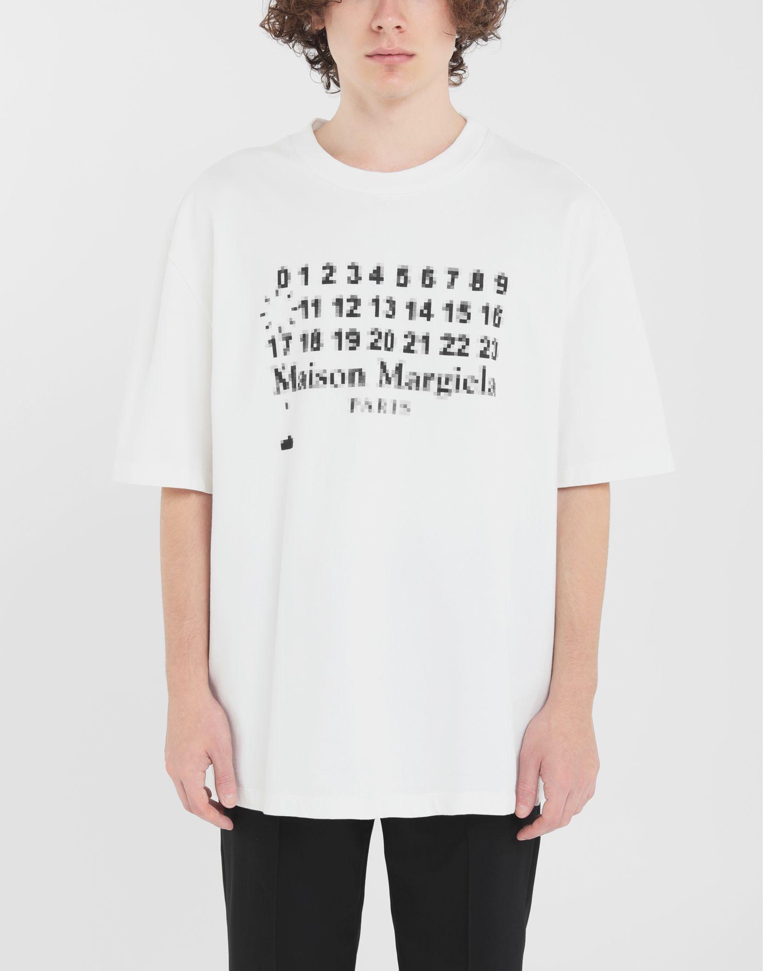 MAISON MARGIELA T-Shirt mit Logo Kurzärmliges T-Shirt Herren r