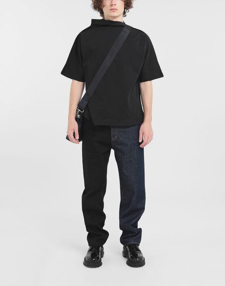 MAISON MARGIELA Funnel neck top Short sleeve t-shirt Man d