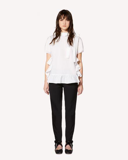 REDValentino Shirt Woman SR0AAA754HC 001 f