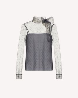 REDValentino Knit Sweater Woman SR0KCB654LV 080 a