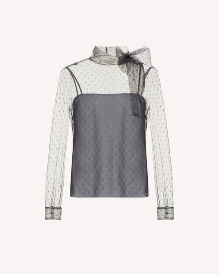 REDValentino Shirt Woman SR0AB1Y01GK 080 a