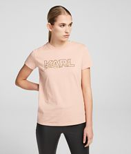 KARL LAGERFELD T-shirt Woman Double Logo T-shirt f
