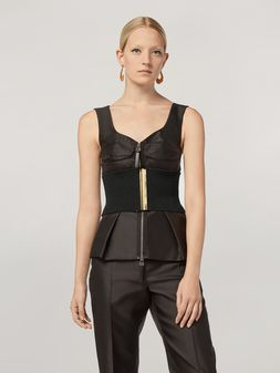 Marni Origami top in mikado techno silk Woman