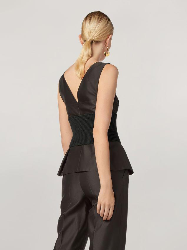 Marni Origami top in mikado techno silk Woman