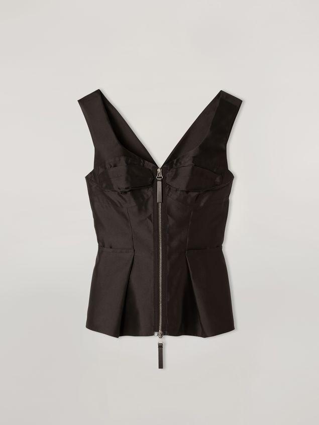 Marni Origami top in mikado techno silk Woman - 2