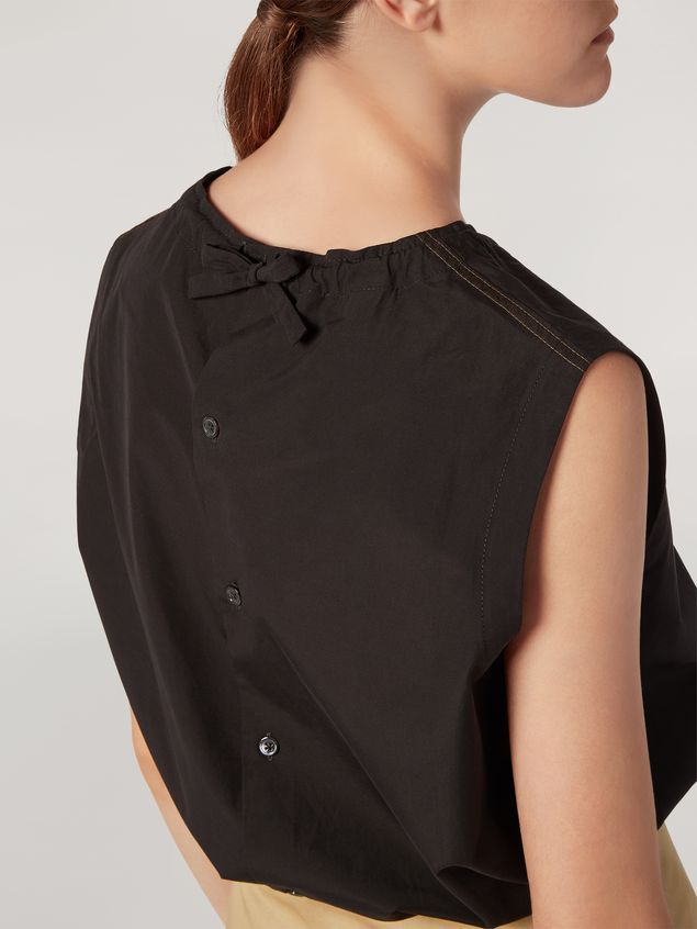 Marni Tunic in cotton poplin with back buttoning Woman - 4