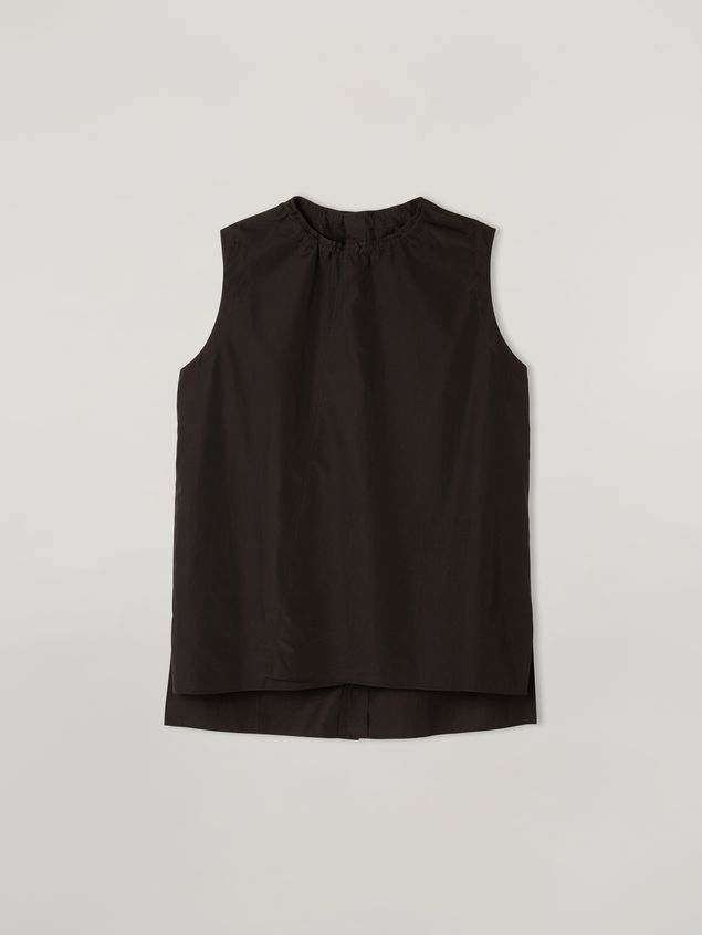 Marni Tunic in cotton poplin with back buttoning Woman - 2