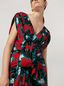 Marni Draped top in viscose sablé Eyed Leaves print Woman - 4