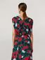 Marni Draped top in viscose sablé Eyed Leaves print Woman - 3