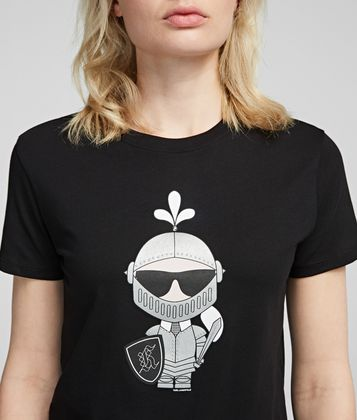 KARL LAGERFELD KARL'S TREASURE KNIGHT T-SHIRT