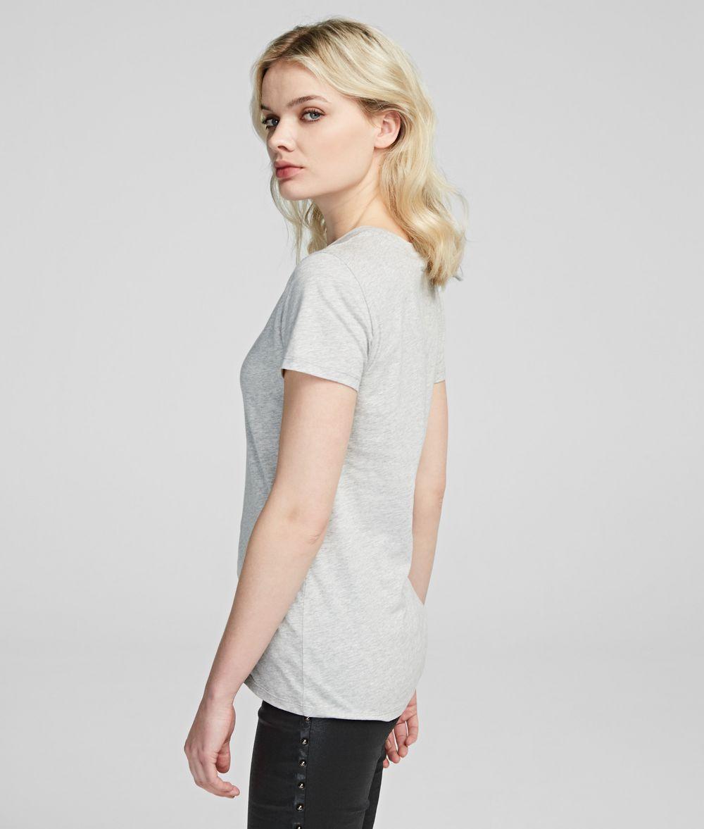 KARL LAGERFELD Karl's Treasure Knight T-Shirt T-shirt Woman d