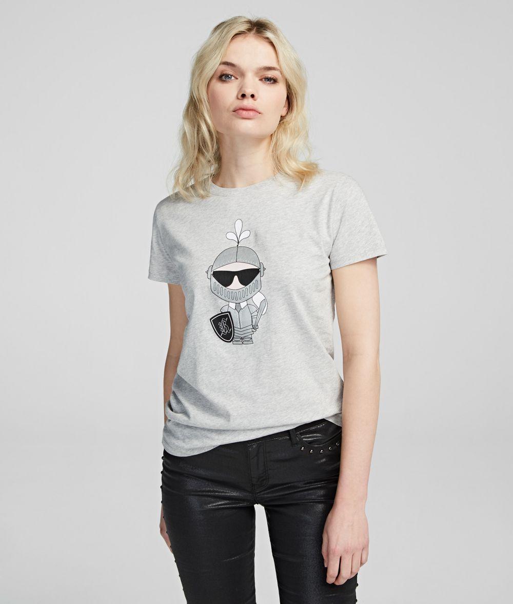 KARL LAGERFELD Karl's Treasure Knight T-Shirt T-shirt Woman f