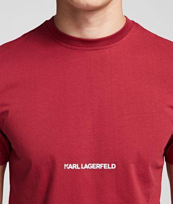 KARL LAGERFELD ESSENTIAL LOGO T-SHIRT