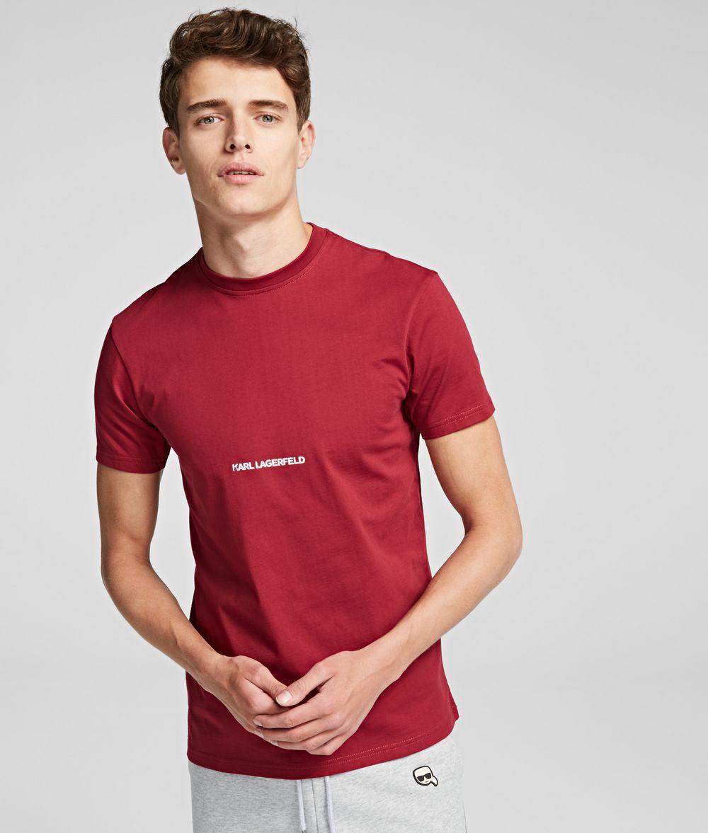 KARL LAGERFELD Essential Logo T-Shirt T-shirt Man f