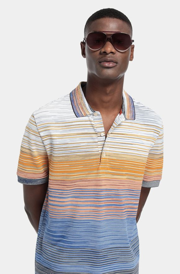 MISSONI Men's polo Man, Detail