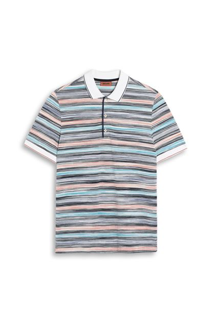 MISSONI Men's polo White Man - Back