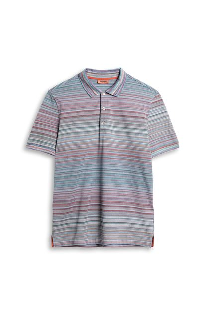 MISSONI Men's polo Lilac Man - Back