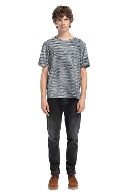 MISSONI Men's T-Shirts Dark blue Man - Front