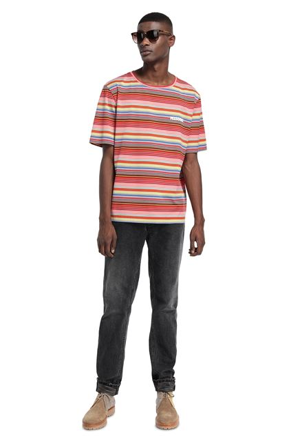 MISSONI Men's T-Shirts Red Man - Front