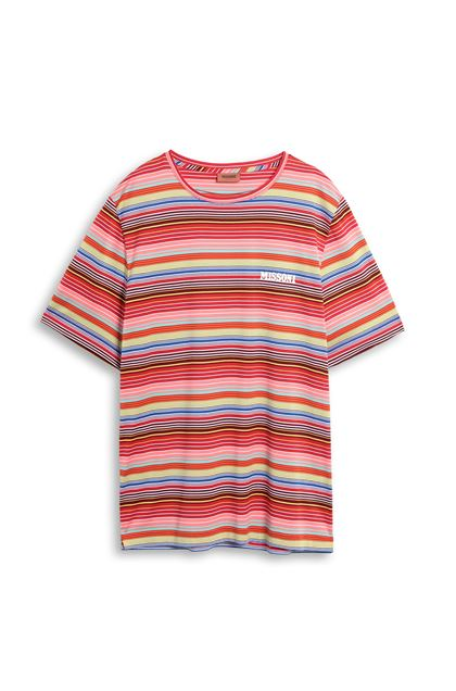 MISSONI Men's T-Shirts Red Man - Back
