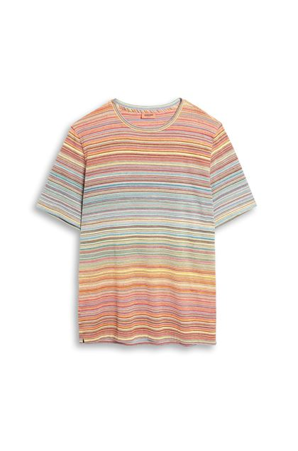 MISSONI T-shirt homme Orange Homme - Derrière