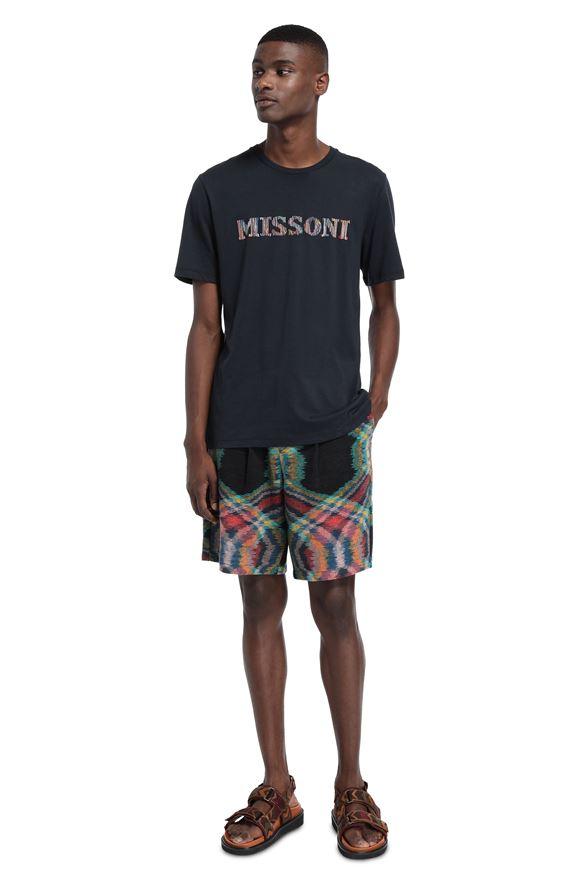 MISSONI Men's T-Shirts Man, Rear view