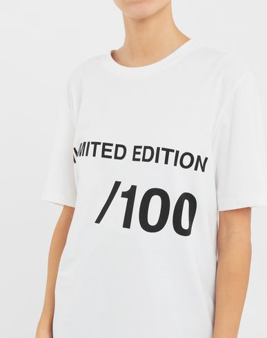 TOPS & TEES Unlimited Edition T-shirt White