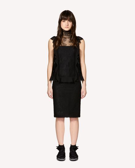 REDValentino Top Woman SR0AEB454JM 0NO f