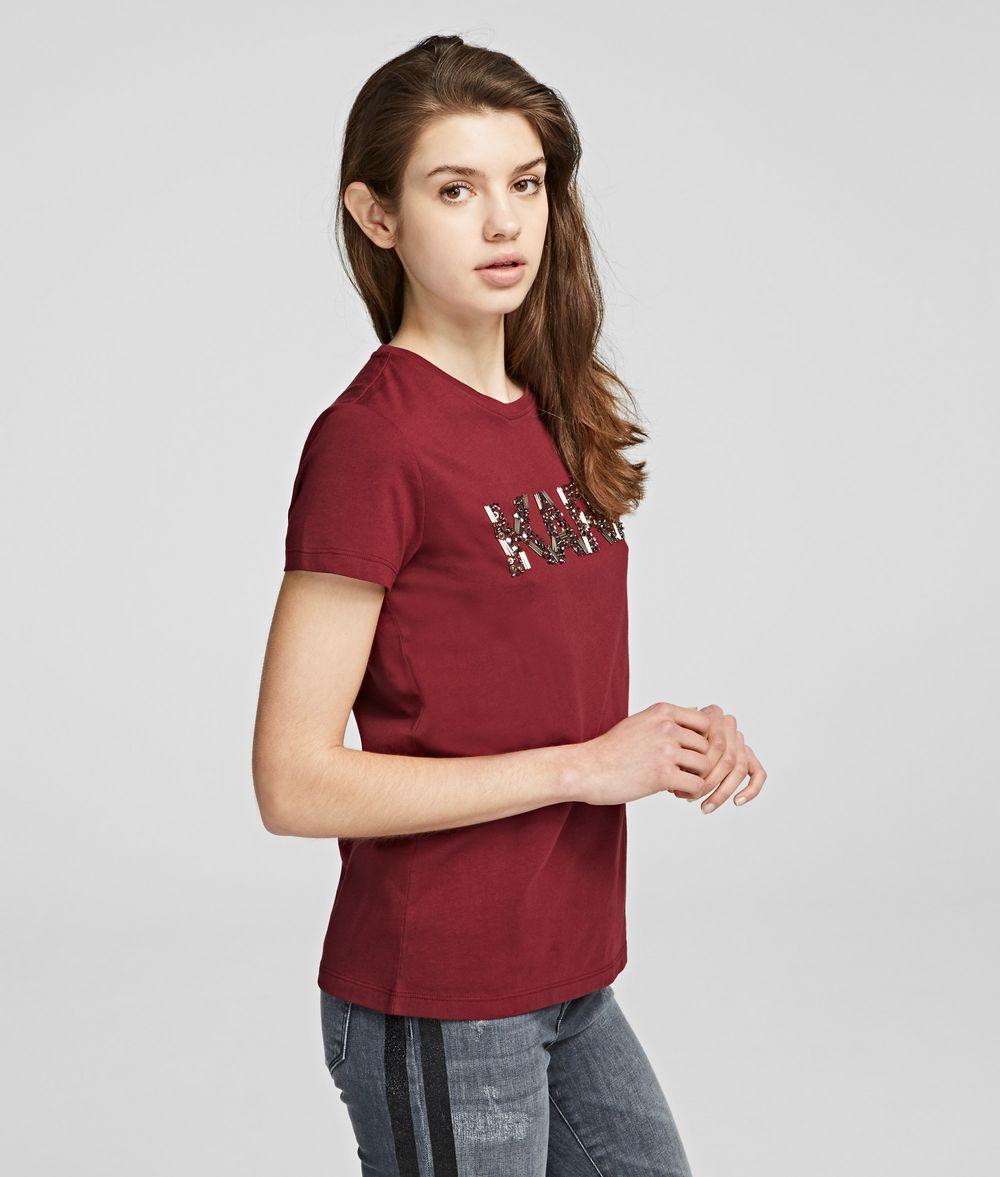 KARL LAGERFELD Karl Oui T-shirt T-shirt Woman d