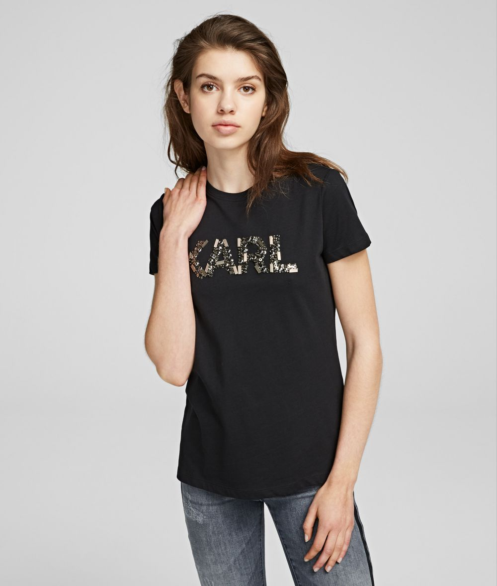 KARL LAGERFELD Karl Oui T-shirt T-shirt Woman f