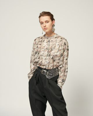 ISABEL MARANT SHIRT & BLOUSE Woman DAWS TOP r