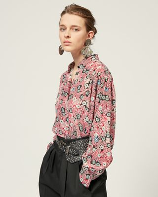 ISABEL MARANT SHIRT & BLOUSE Woman CADE TOP r