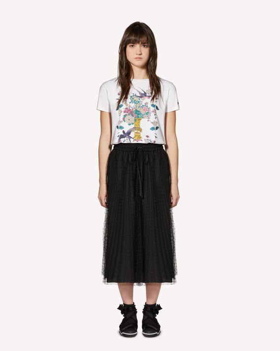 REDValentino Chinese Lacquer printed T-shirt