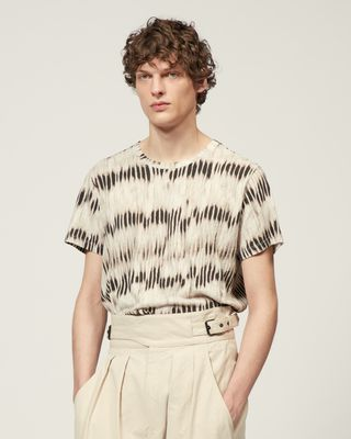 ISABEL MARANT SHORT SLEEVED Man WARIS T-SHIRT r