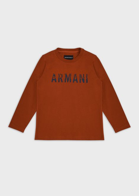 Sweater with logo print