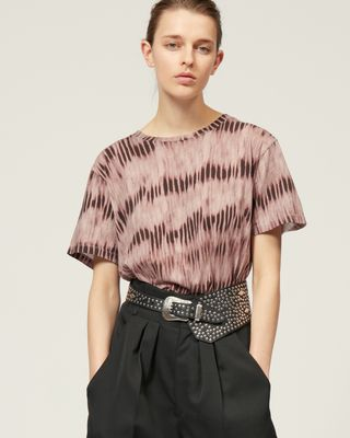 ISABEL MARANT SHORT SLEEVED Woman ZEWEL T-SHIRT r