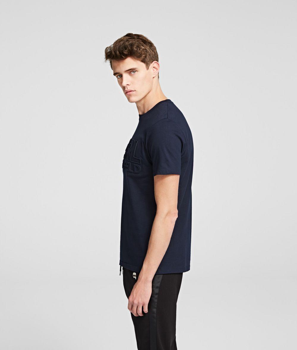 KARL LAGERFELD BLOCK LOGO T-SHIRT T-shirt Man r