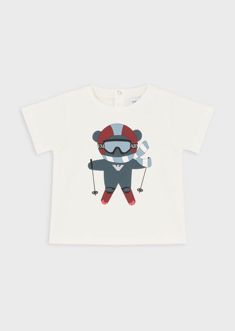 Manga Bear sport T-shirt in jersey