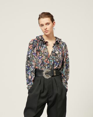 ISABEL MARANT SHIRT & BLOUSE Woman BLINEA TOP r
