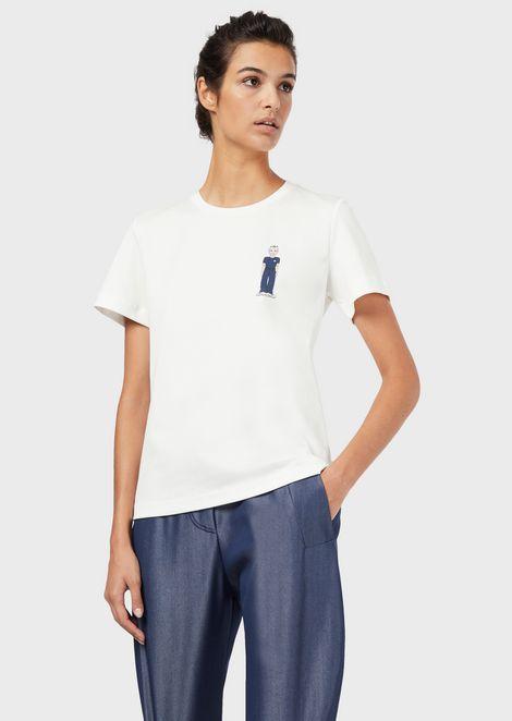 T-shirt Online Exclusive Giorgio Armani 4 FANS