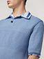 Marni  Knitted polo shirt in openwork virgin wool Man - 4