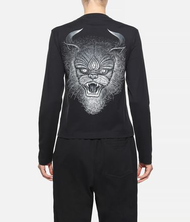 Y-3 Langärmliges T-shirt Dame Y-3 Long Sleeve Tee  r