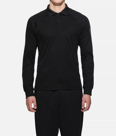 Y-3 Polohemd Herr Y-3 Long Sleeve Polo Shirt r