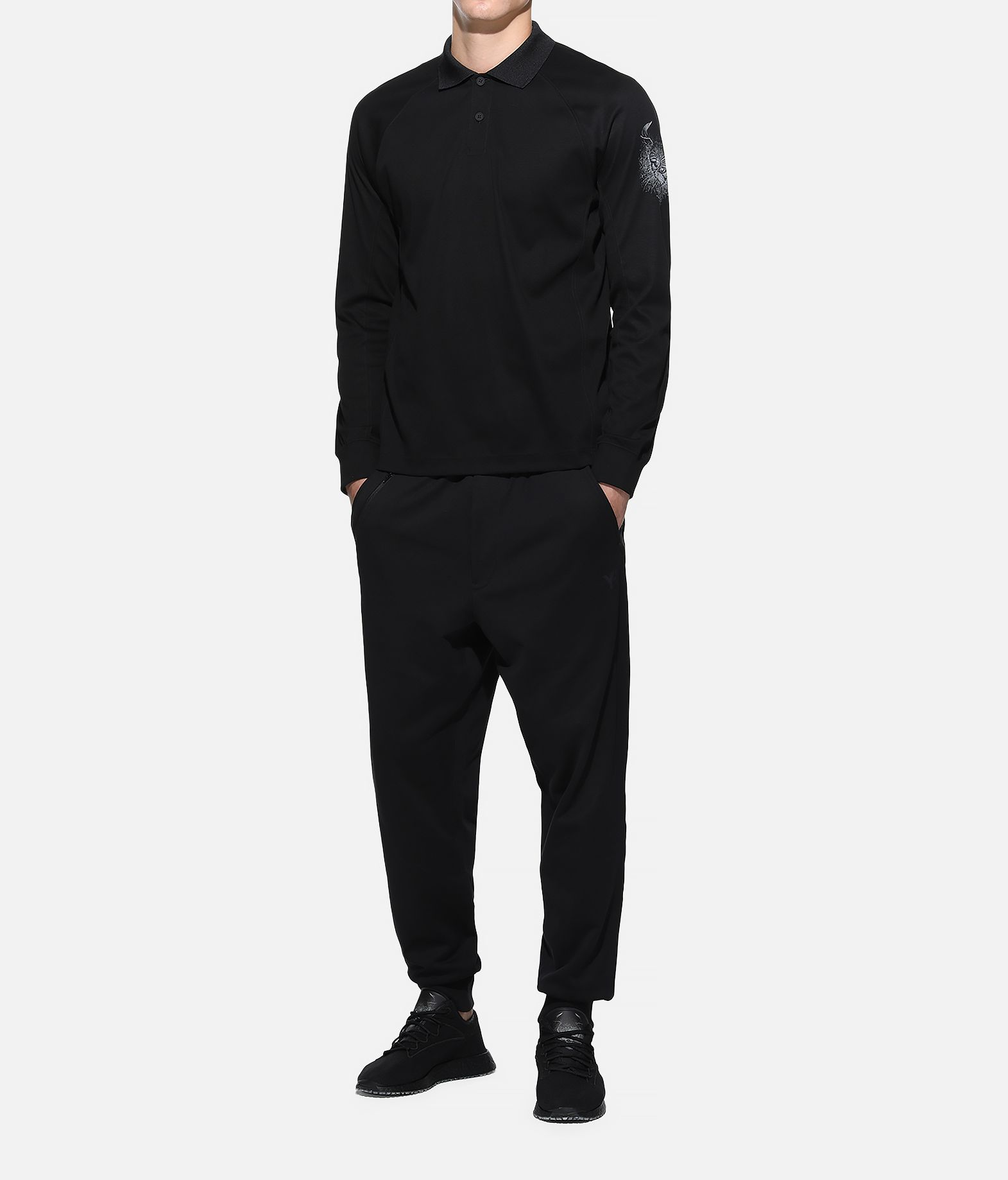 Y-3 Y-3 Long Sleeve Polo Shirt Polo Man a