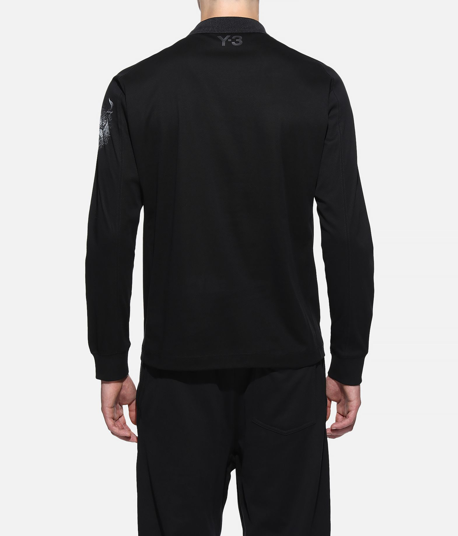 Y-3 Y-3 Long Sleeve Polo Shirt Polo Man d
