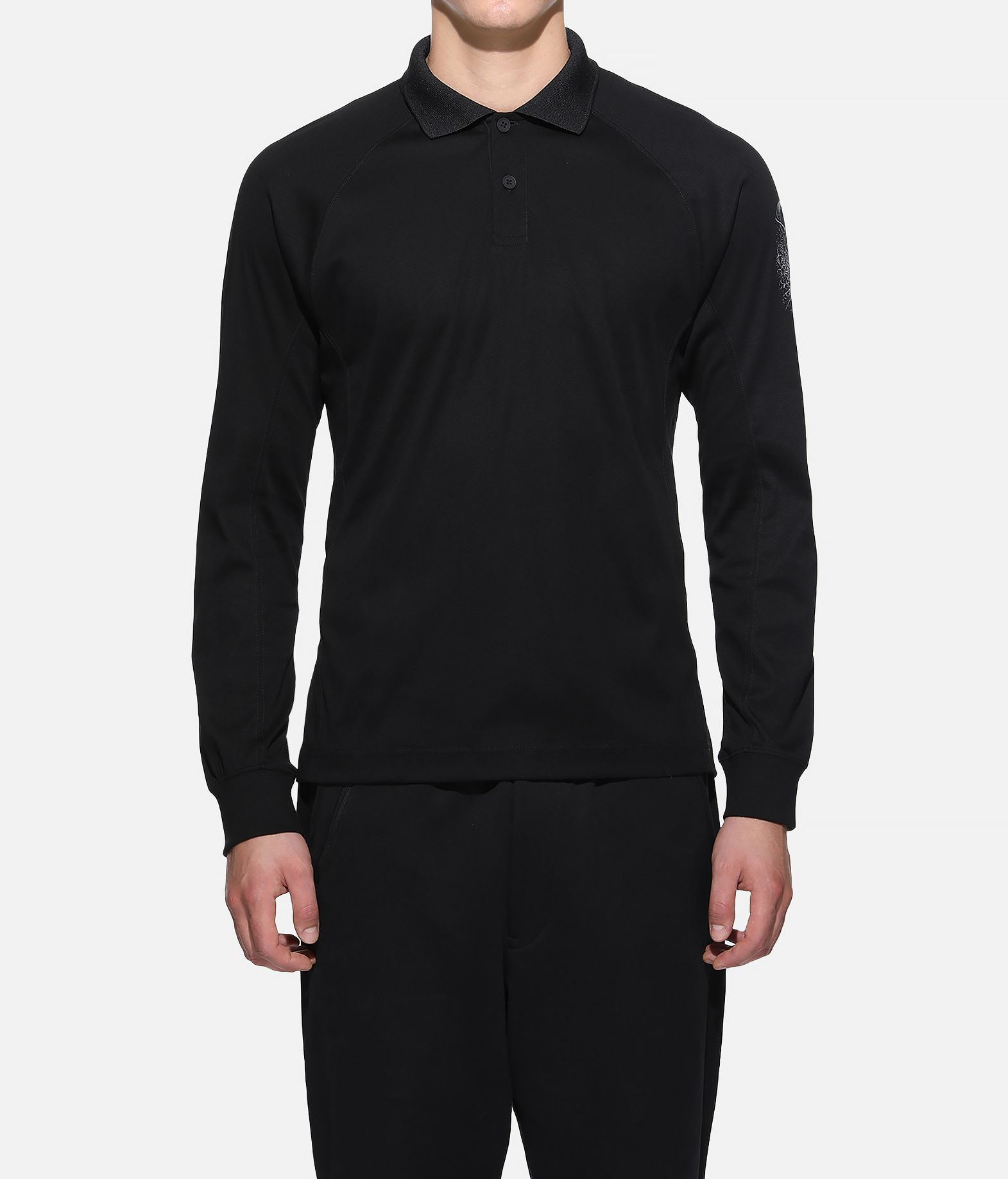 Y-3 Y-3 Long Sleeve Polo Shirt Polo Man r