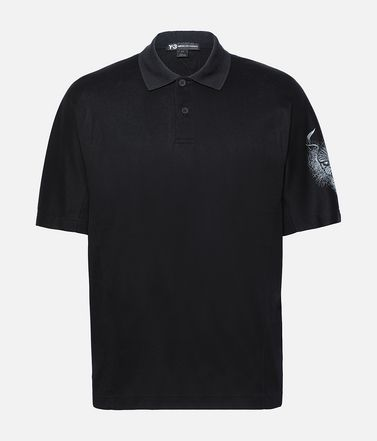 Y-3 Short Sleeve Polo Shirt