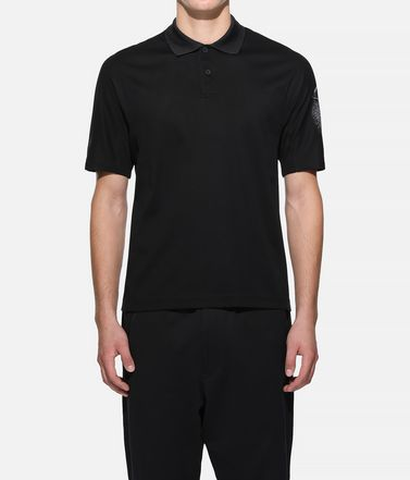 Y-3 Polo Man Y-3 Short Sleeve Polo Shirt r