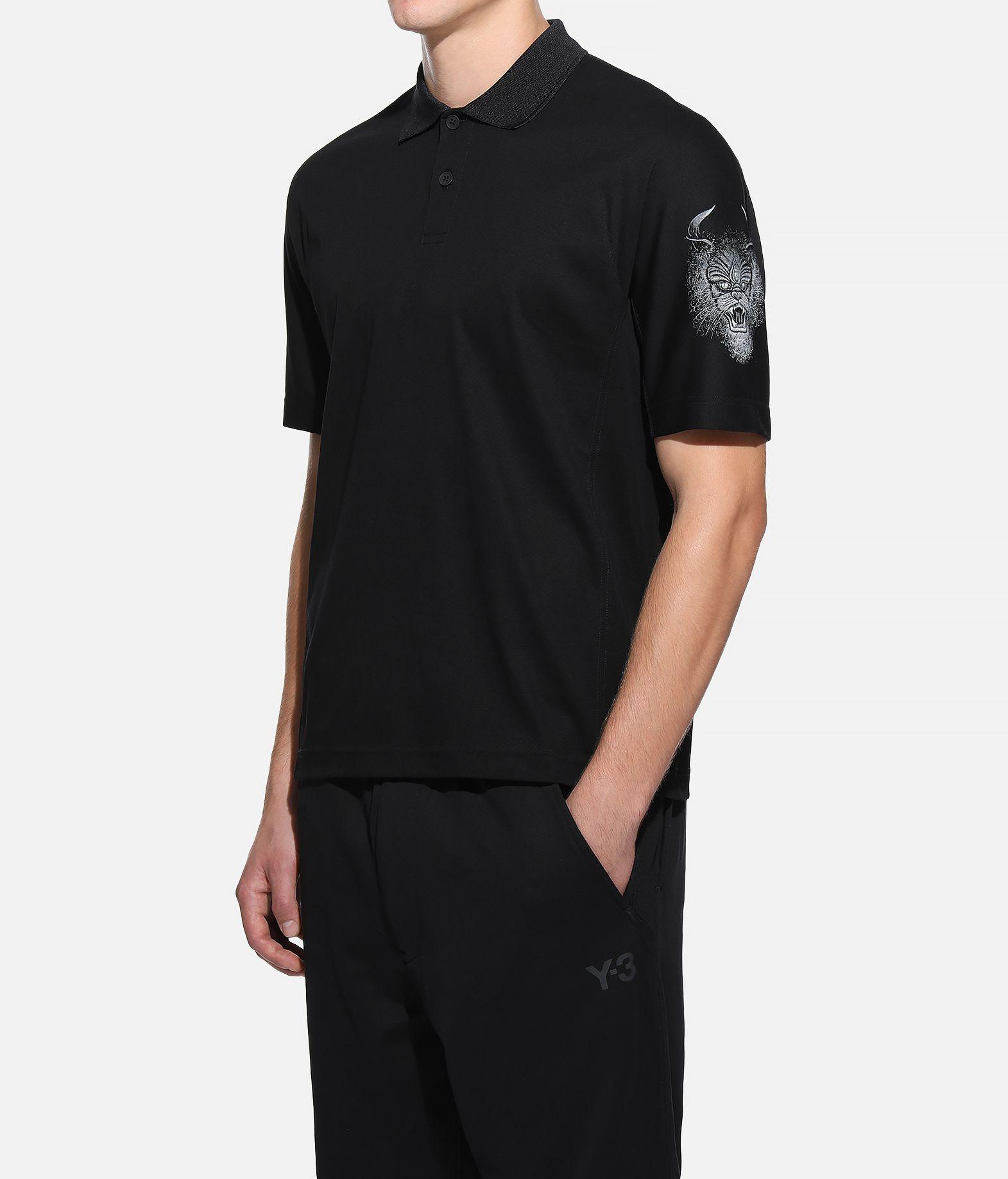 Y-3 Y-3 Short Sleeve Polo Shirt Polo Man e