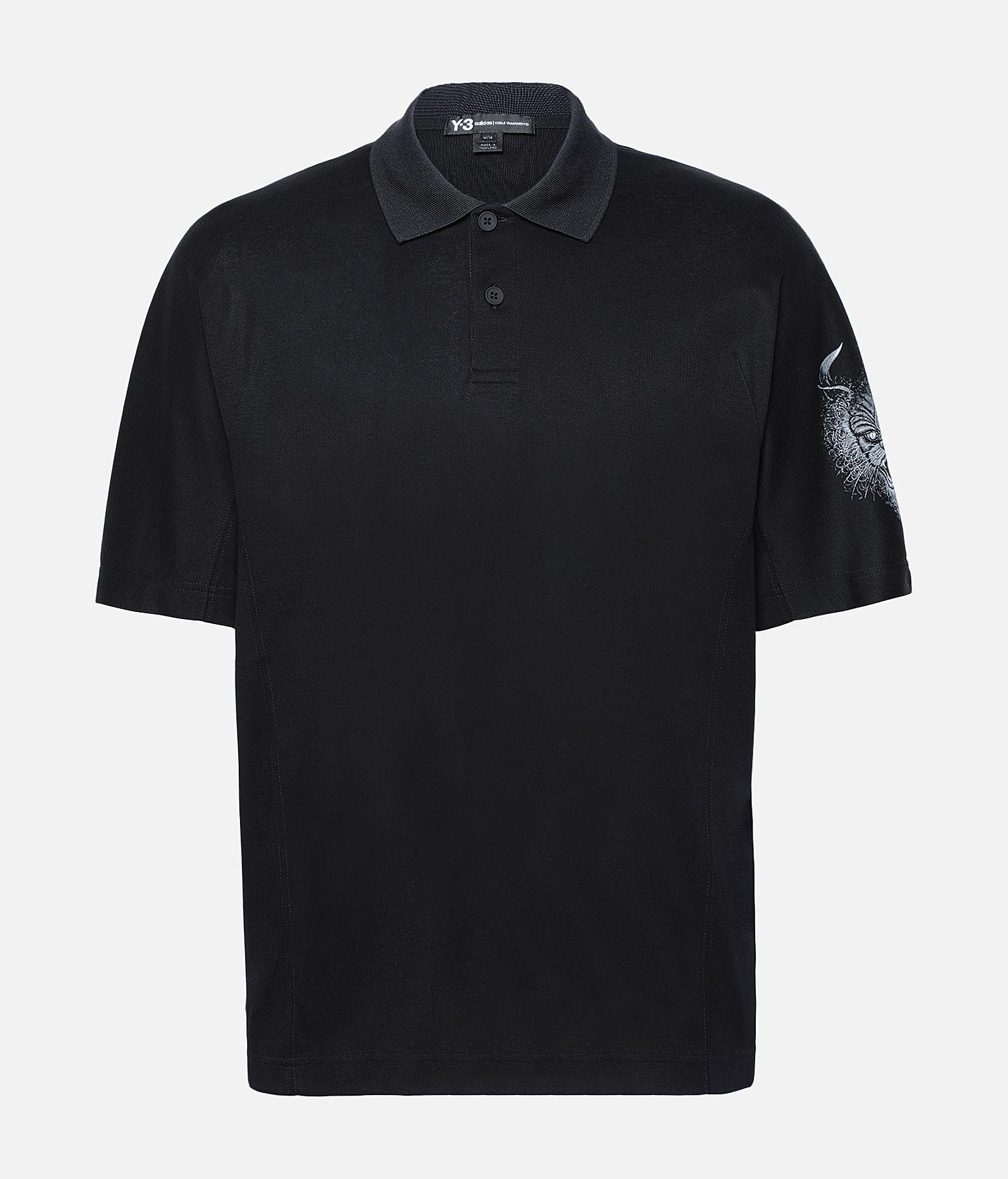 Y-3 Y-3 Short Sleeve Polo Shirt Polo Man f